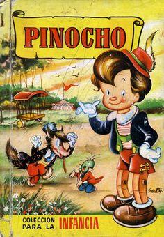 Pinocho/ Adaptación de A. Vidal Sales; Ilustraciones de Maria Barrera (1958)