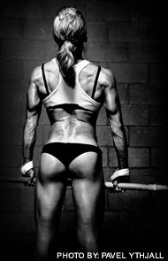 8 moves to get the perfect butt. Yes, figure competitor Pauline Nordin has amazing glutes. No, this ain't a butt-blaster booty. She built it doing rock-bottom barbell squats and other old-school moves. You can too (guys and girls alike) with this killer workout!