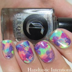 Handtastic Intentions: Cirque Colors Vice Collection Nail Art