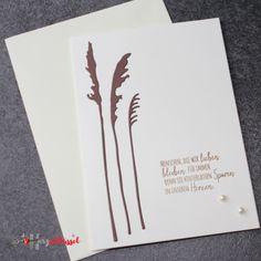 Herzschlüssel: Trauerkarten, Stampin Up, #DIY, Alexandra Renke, Charlie und Paulchen, Big Shot,