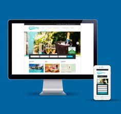 Criação do site da Pousada Toca da Praia em parceria com um outro Designer que desenvolveu o layout