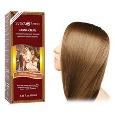 Henna Haarfarbe Creme, goldblond