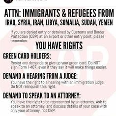 Know your rights! - ICIRR: Illinois Coalition for Immigrant and Refugee Rights Refugee Rights, Muslim Ban, Pledge Of Allegiance, Condolences, Poetry Quotes, Knowing You, Einstein, Politics, Thoughts