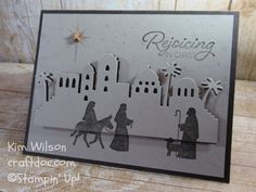 Night in Bethlehem, Stampin' Up, Eclipse Card