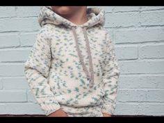 Детский худи спицами с капюшоном. Вяжем худи спицами для ребенка мастер класс | Шкатулка рукоделия. Сайт для рукодельниц. Crochet Coat, Crochet Baby, Knitting For Kids, Baby Knitting, Knitting Videos, Niece And Nephew, Crochet Designs, Kids And Parenting, Hooded Jacket