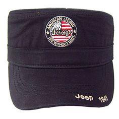 Unisex Jeep American Legend Adjustable Military Hat
