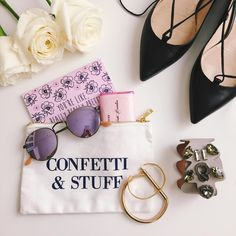 """Julia Engel (Gal Meets Glam) auf Instagram: """"Just some confetti & stuff  @packedparty #cutestbagever #confettiandstuff #sanfrancisco"""""""