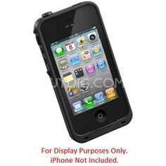 LifeProof FEATURED ON TODAY SHOW iPhone 4/4S Case Waterproof/Shockproof & Dirtproof Black