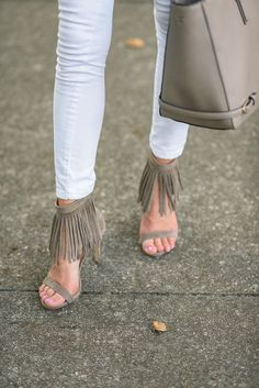 awesome Spring Shoe Trends: Fringe... by http://www.dezdemonfashiontrends.top/new-fashion-trends/spring-shoe-trends-fringe/
