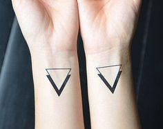 nice Tiny Tattoo Idea - minimalist tattoo on Etsy, a global handmade and vintage marketplace.