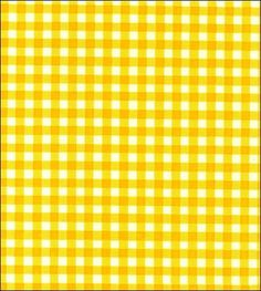 Pictures of Gingham - Yellow Oilcloth