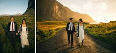 From the wedding we arranged for Sirena and Erick in Lofoten in September 2014. Photo: Nordica Photograpy