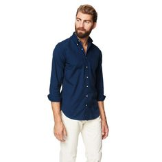 YALE ARCHIVE CAMPUS OXFORD FITTED SHIRT