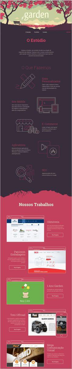 Unique Web Design, O Estudio #WebDesign #Design (http://www.pinterest.com...) #infographics
