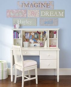 like this style of desk for kids study room little people