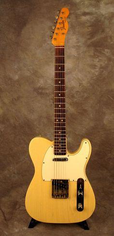 Fender 1966 Telecaster in see-through Blonde | ronsvintage.com