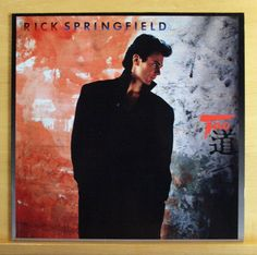 RICK SPRINGFIELD Tao Vinyl LP - Celebrate Youth Dance this World away Top RARE