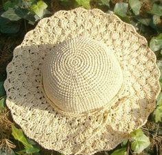 Ravelry: Summer Sunhat pattern by Martina Supova Crochet Summer Hats, Crochet Cap, Sombrero A Crochet, Easy Crochet Patterns, Crochet Accessories, Sun Hats, Crochet Clothes, Crochet Projects, Headbands