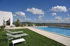 Contemporary white villa, Sicily, Italy