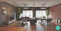 The Association: Resembling more like a loft, the space is airy and café-inspired.