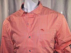 Tommy Bahama men's paradise island check log sleeve shirt size XXL NEW #TommyBahama #ButtonFront
