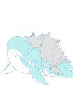 Even the biggest pokémon can be adorable.
