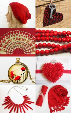 Passion Red by Marcia on Etsy--Pinned with TreasuryPin.com