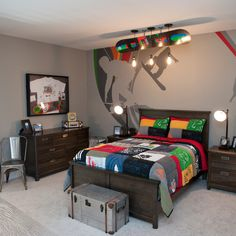 Teen Game Room Design Ideas, Pictures, Remodel and Decor