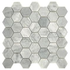 Daltile Restore Mist Honed 12 in. x 12 in. x Marble Mosaic Floor and Wall Tile sq./ - The Home Depot Daltile Restore Mist Honed 12 in. x 12 in. x Marble Mosaic Floor and Wall Tile sq./ piece) - The Home Depot Ceramic Mosaic Tile, Mosaic Wall Tiles, Marble Mosaic, Stone Mosaic, Glazed Ceramic, White Wall Tiles, Marble Wall, Marble Floor, Splashback Tiles