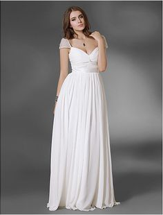 Prom/Military Ball/Formal Evening Dress A-line/Princess V-neck/Off-the-shoulder Floor-length Chiffon Dress - http://www.aliexpress.com/item/Prom-Military-Ball-Formal-Evening-Dress-A-line-Princess-V-neck-Off-the-shoulder-Floor-length-Chiffon-Dress/32325746818.html