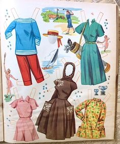 Uncut Original Vera Miles Paper Doll Whitman 2086 from 1957 | eBay
