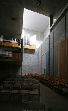 First Unitarian Church of Rochester. Rochester, New York. Louis Kahn. 1962