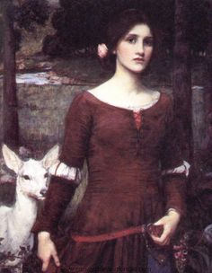 John William Waterhouse The Lady Clare. I have made a reproduction of this gown.