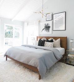 modern mid-mod bedroom