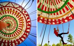 Energy Carousel: la giostra che produce energia dal movimento dei bimbi