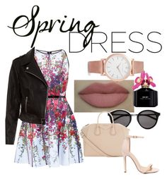 """""""Rock spring"""" by tamsy13 ❤ liked on Polyvore featuring Ted Baker, New Look, Yves Saint Laurent, Givenchy, Liliana, Marc Jacobs and Larsson & Jennings"""