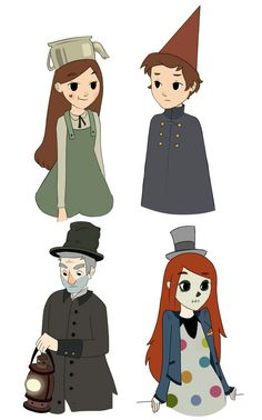 Stanley Pines :: Dipper Pines :: Wendy Corduroy :: Mabel Pines :: GF Персонажи :: Gravity Falls :: Over The Garden Wall :: crossover :: фэндомы