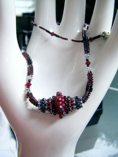 Beaded bead by Sharon A. Kyser