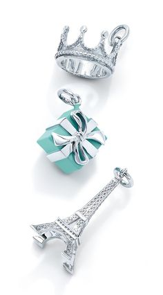 Tell a story. Tiffany charms celebrate love, special occasions and memorable milestones in a way that's quintessentially Tiffany—and quintessentially her. - jewelry, unique, leather, tiffany, vintage, royal jewellery *ad
