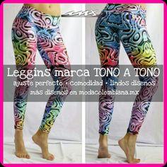 #Leggins marca TONO A TONO te brindarán ajuste perfecto, comodidad y además lindos diseños. Conoce la colección completa modacolombiana.mx