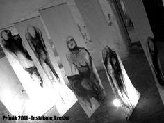Obnaženi 2011 - Průnik - Instalace, kresba - Jana Nuslauerová: Už pár týdnů mnou rezonuje Bezčasí | Lohas magazín