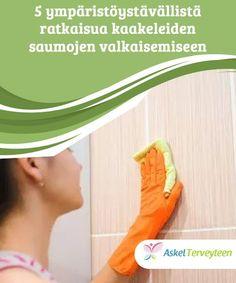 5 ympäristöystävällistä ratkaisua kaakeleiden saumojen valkaisemiseen Kaakeleiden saumojen valkaiseminen ei vaadi kemiallisia puhdistusaineita. Jotkut orgaaniset ainesosat sopivat tehtävään täydellisesti. Cleaning, Home Cleaning