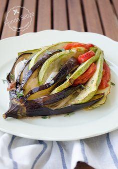 garnitür tarifi No Gluten Diet, Turkish Recipes, Ethnic Recipes, Eggplant Dishes, Ratatouille, Sandwiches, Appetizers, Mexican, Healthy Recipes