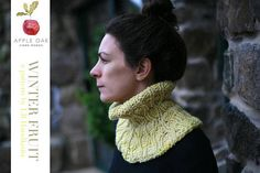 WINTER FRUIT ~ Stockholm knitting pattern cowl designed by LBhandknits by AppleoakFibreWorks on Etsy Fruit Pattern, Arts And Crafts Movement, Color Inspiration, Cowl, Knitting Patterns, Stockholm, Trending Outfits, Crochet, Winter