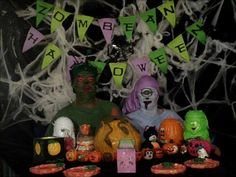 Zombean Halloween Costumes and Party Food!