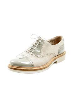 Shoptiques — Grigio Saddle Shoe