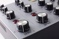Audio accessories company MasterSounds has partnered with Union Audio to create Radius a hand built analogue rotary DJ mixer. Dj Gear, Rotary, Metal Working, Audio, Mixer, Tech, Metalworking, Technology, Stand Mixer