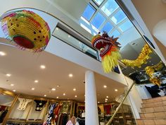 How is a new year celebrated in China? With dragons, of course! Dragons are a symbol of China's culture as they are believed to bring good luck to people. The longer the dragon, the more luck it will bring to the community. In light of this, BONZ has set up the biggest dragon we could find in our flagship Queenstown location. Big Dragon, Lunar New, New Zealand, Dragons, Home Goods, Community, China, Culture, Holidays