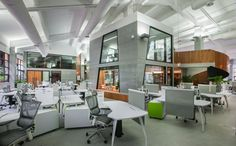 Inside Amazing Offices of Tencent by M Moser Associates | Officelovin