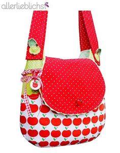 Nähanleitung für eine Umhängetasche mit viel Stauraum / sewing instruction for a shopping bag by allerlieblichst via DaWanda.com